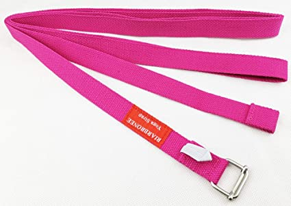 Riarbronee - Correa de Yoga (3 m, algodón Resistente, Ajustable, para Estiramiento)