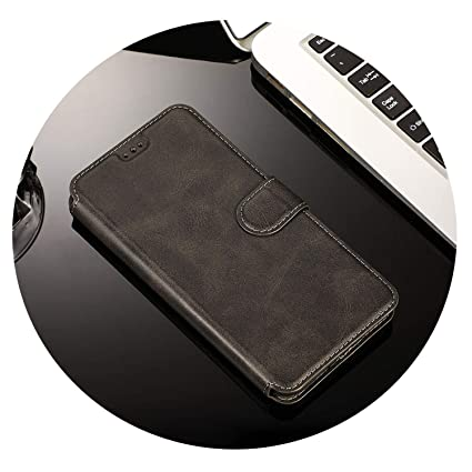Amazon.com: Leather Magnetic 7plus Case for iPhone Xs MAX XR ...