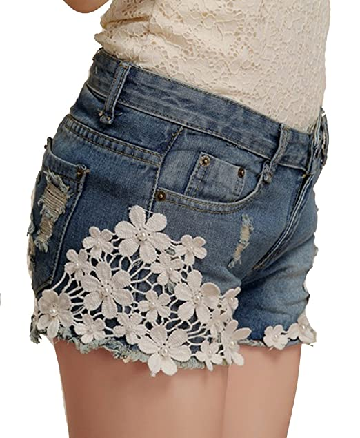 Babycat collection Damen GIRL HOT PANTS Jeans Shorts Kurze Hose ...