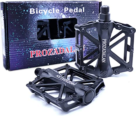 PROZADALAN Pedales Bicicleta, Pedals Impermeable 9/16 ...