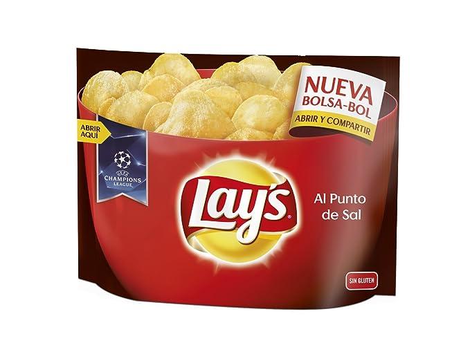 Lays Patatas Fritas al Punto de Sal - 200 g: Amazon.es ...