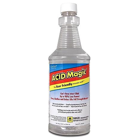 .com : acid magic - muriatic acid replacement : swimming pool ...