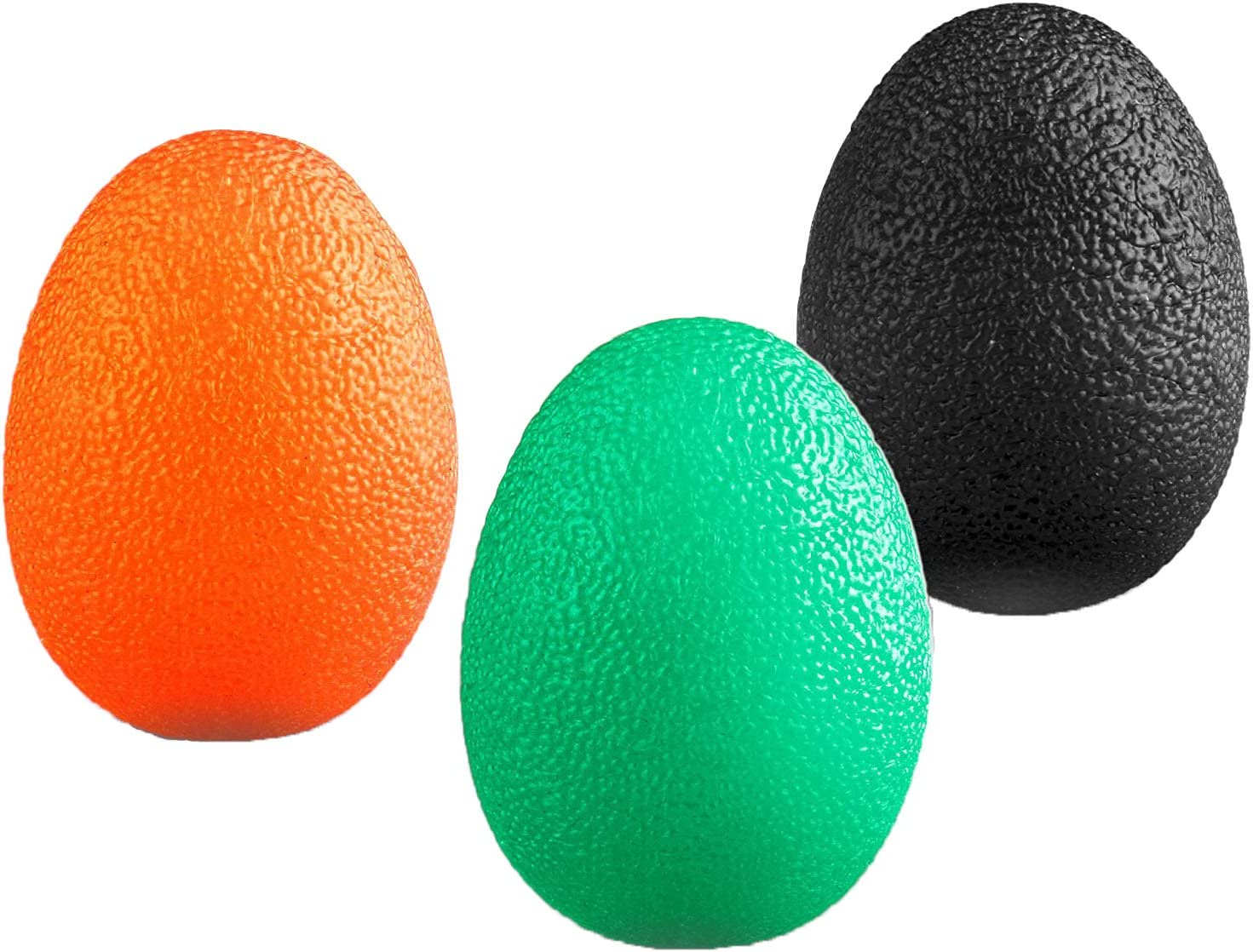 Buy Fitsy Stress Relief Squeeze Balls for Hand Grip Strengthening - Set of  3 Online at Low Prices in India - Amazon.in
