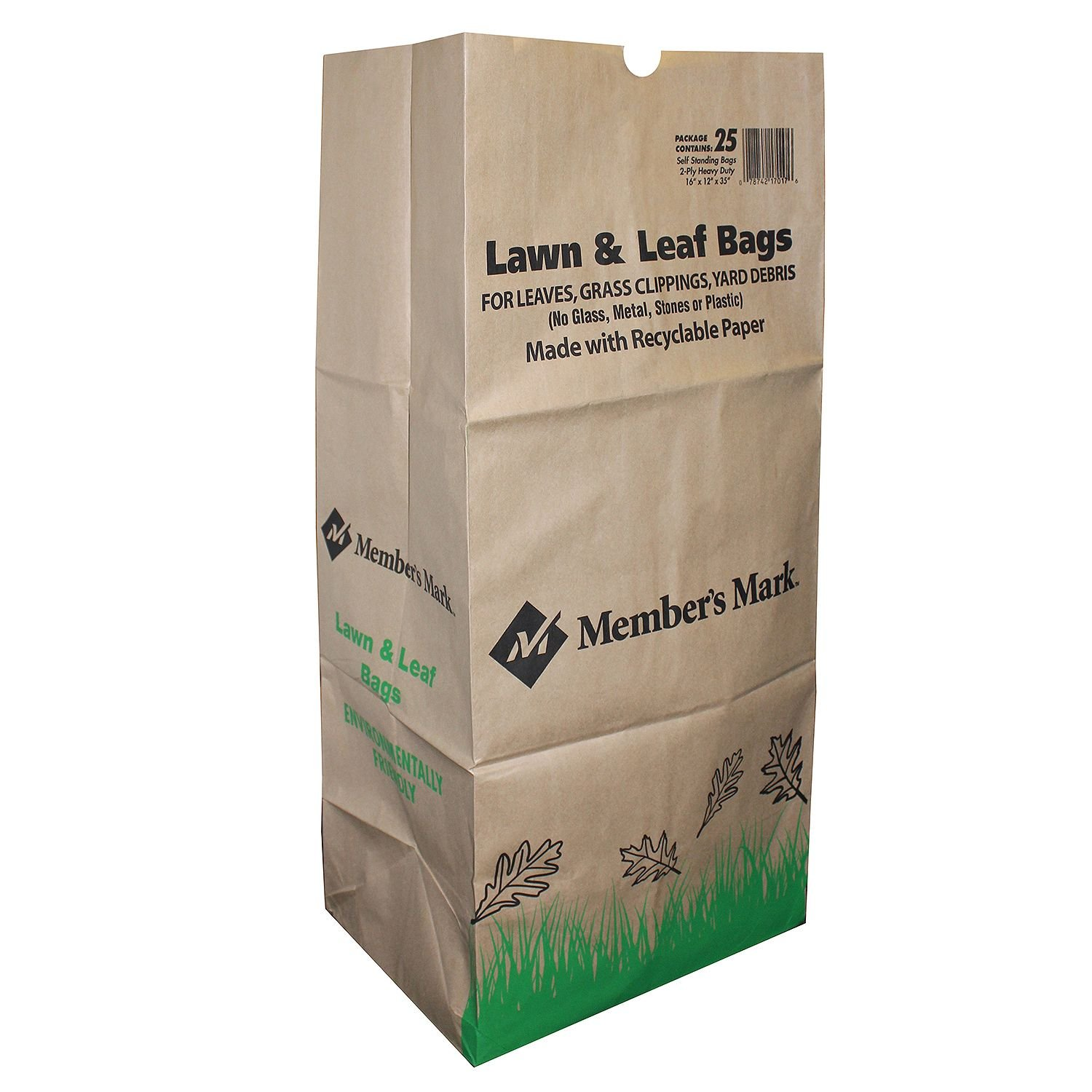 Member's Mark 30-Gallon Lawn & Leaf Bags, 5 Pack Member's Mark