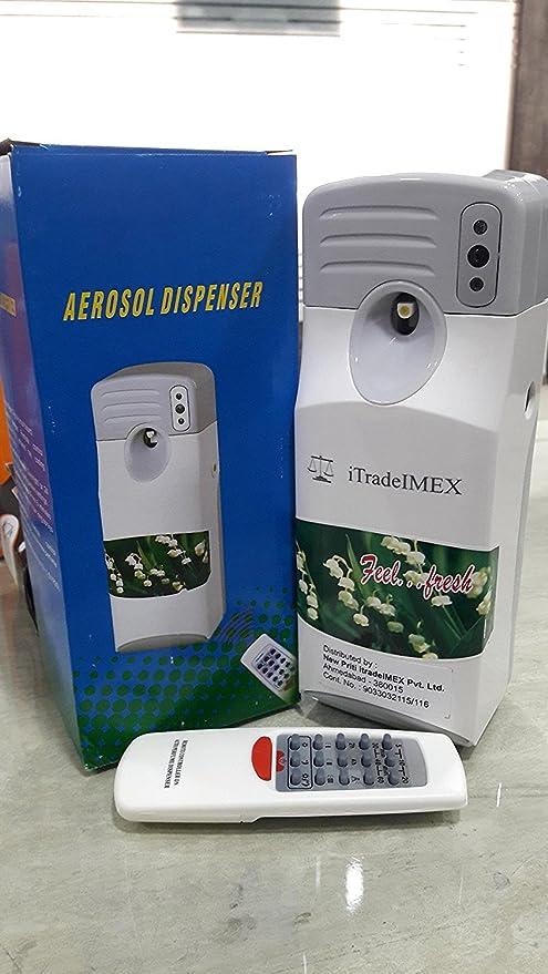 Itradeimex Automatic White Abs Plastic Led Sensor Air Freshener