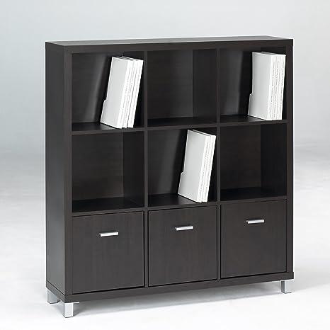 Closet Norte - Estantería modelo Verona de 3 baldas + 3 ...