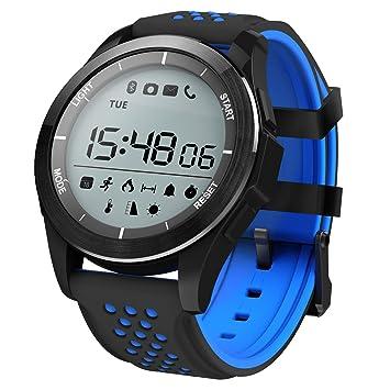 Smartwatch, Kivors Reloj Inteligente Impermeable Fitness ...