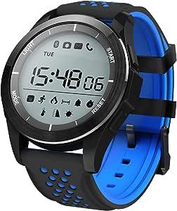 Padgene® F3 Sport Smart Horloge Waterdicht IP68 Zwemmen Horloge Bluetooth 4.0 met Stappenteller Slaapmonitor Calorie Brandend Plus met Muziek Control, Bericht Herinnering, Anti-Verloren Smart Heal
