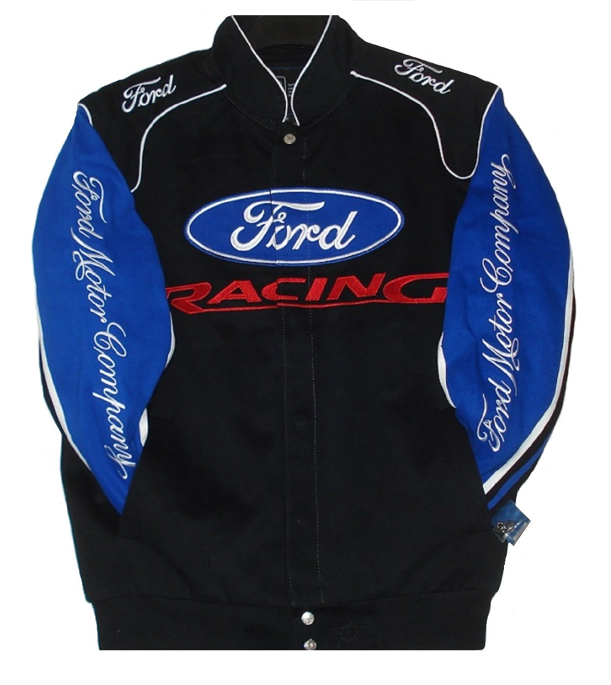 Authentic Ford Racing Cotton Jacket JH Design Size Med
