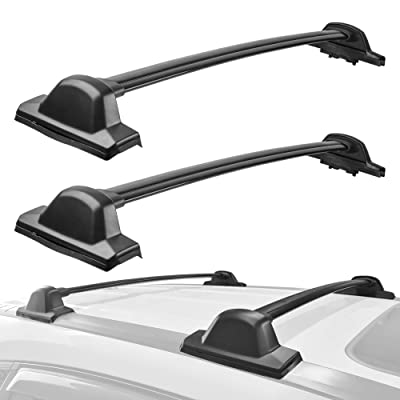 MOSTPLUS Roof Rack Cross Bar Rail for Honda CRV 2007 2008 2009 2010 2011 Cargo Racks Rooftop Luggage Canoe Kayak Carrier Rack: Automotive