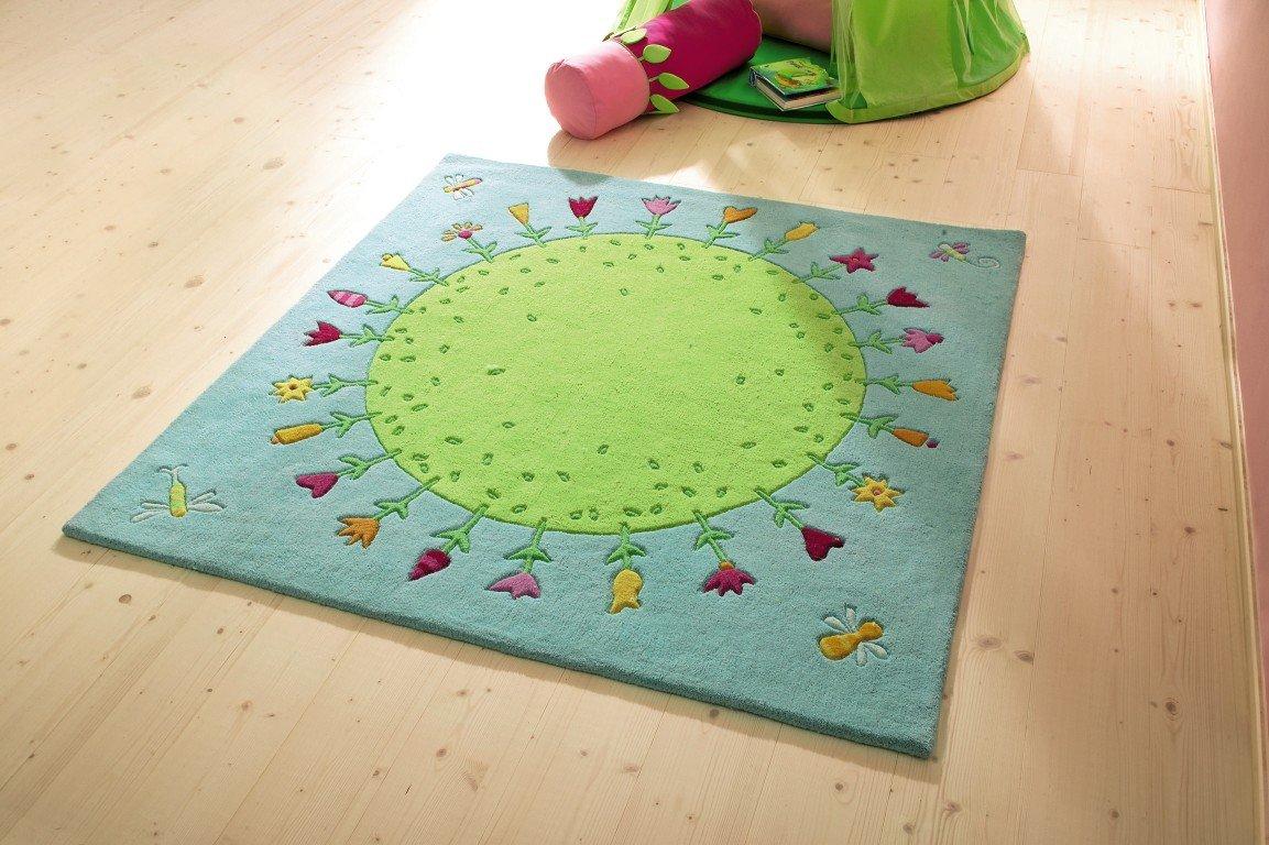 D/écoration Tapis Plan/ète Fleurie HABA 2973