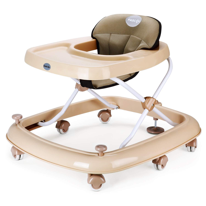 Moolo Andadores Andador para bebés, con plegador con Freno ...