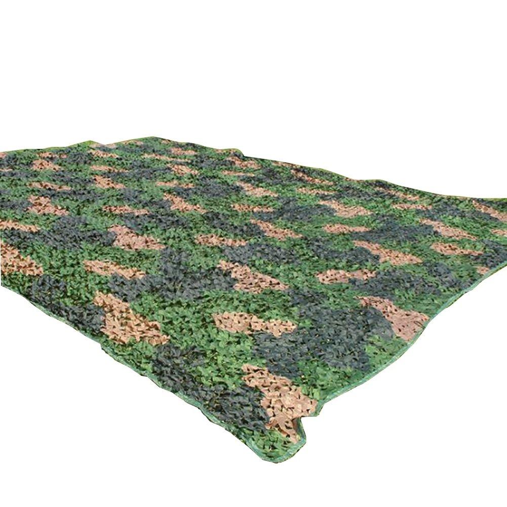 nessun minimo YMXLJF Ombra Netto, Respirabile Esterno Esterno Esterno Rete Parasole Giungla Mimetica etilene Netto Tessuto Protettivo Anti-Aerea Blocca Il 70% dei Raggi UV (colore   verde, Dimensioni   5x6m)  centro commerciale di moda