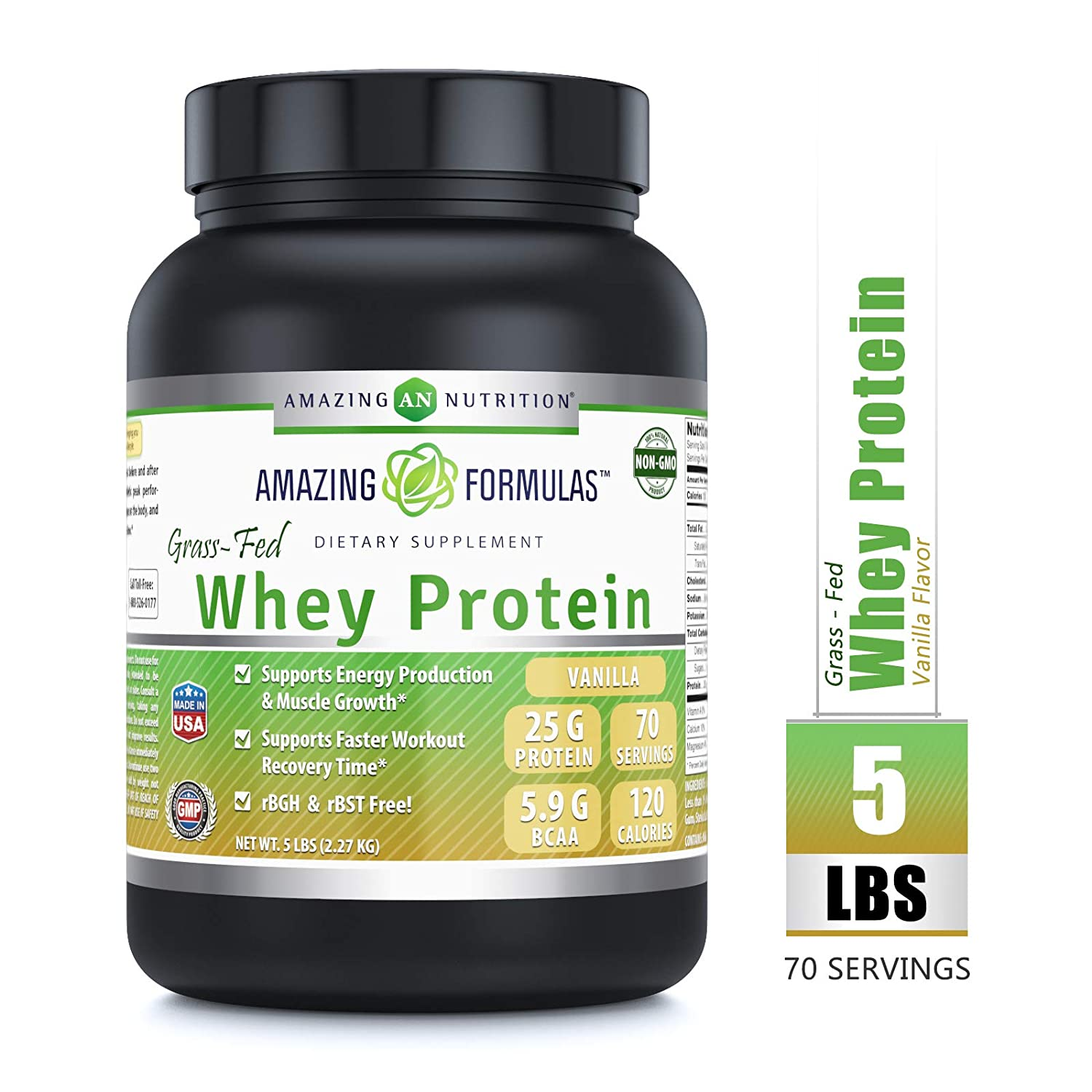 Cold Processed Grass Fed Whey vs High temperature Processed Whey