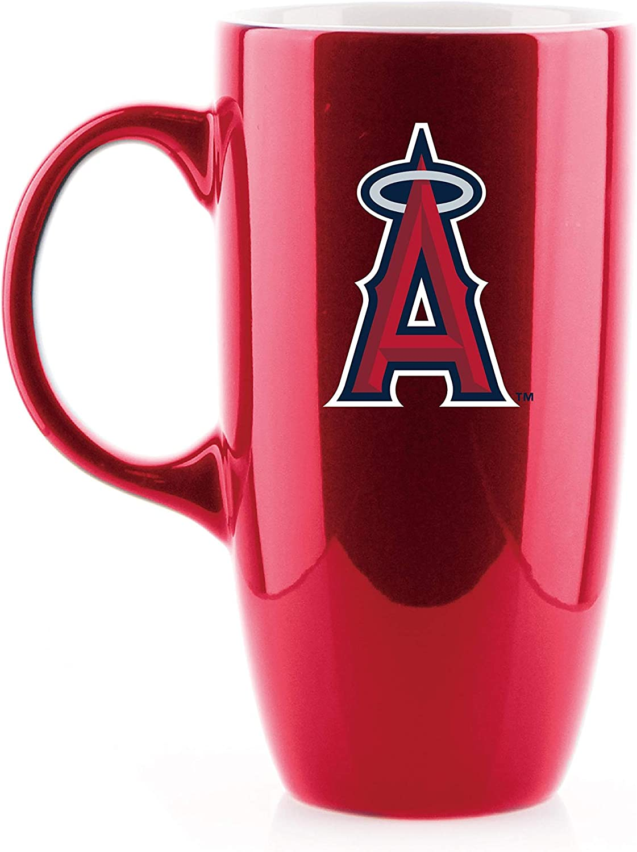 Duck House MLB Los Angeles Angels Unisex Tall Bone China Mugtall Bone China Mug RED 20 OZ