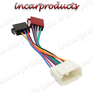 In Car Products Car Stereo Radio Iso Wiring Harness: Amazon.co.uk ...