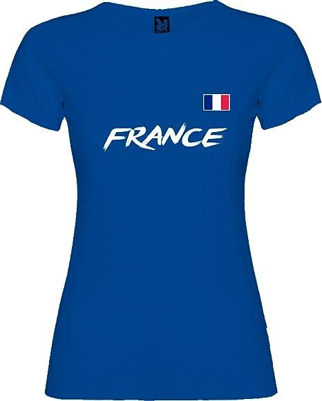 Lolapix Camiseta seleccion de fútbol Personalizada con Nombre y número. Camiseta de algodón para Mujer. Elige tu seleccion. Francia: Amazon.es: Hogar