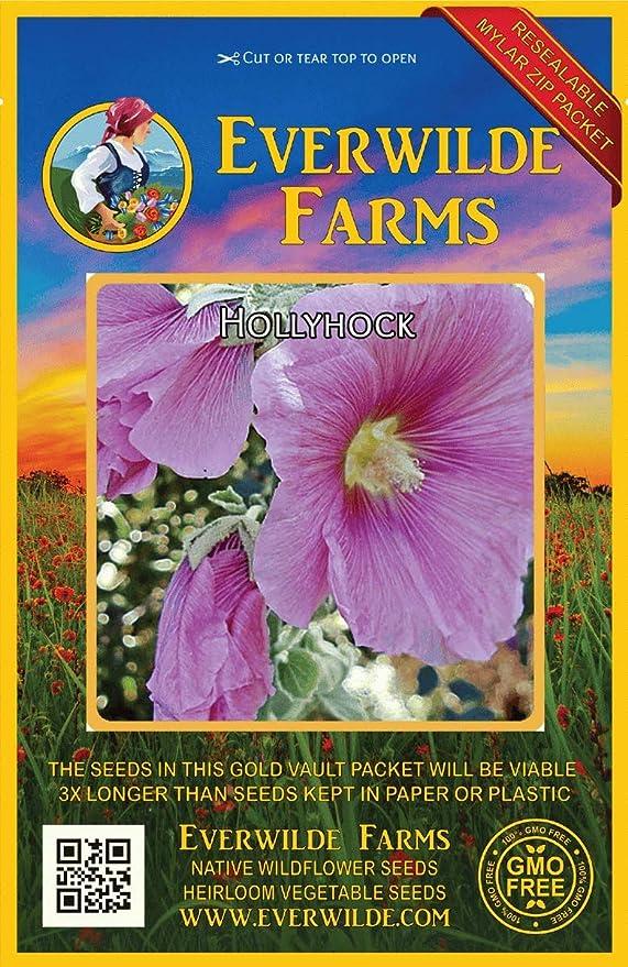 Everwilde Farms Mylar Seed Packet 2000 Rockcress Wildflower Seeds