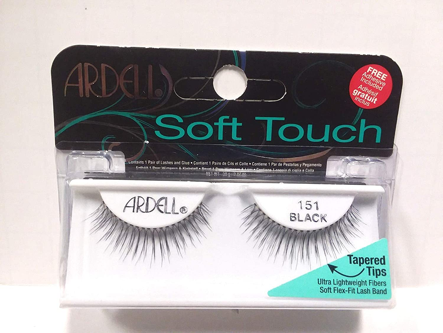 8008032ae3c Ardell - Soft Touch - Tapered Tip Lashes - Black 151: Amazon.co.uk: Beauty