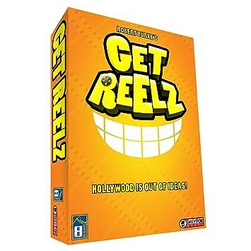 Grey Fox Games Get Reelz Board Game, Board Games - Amazon Canada