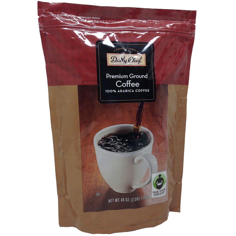 Amazoncom Daily Chef Premium Ground Coffee 40 Oz Grocery