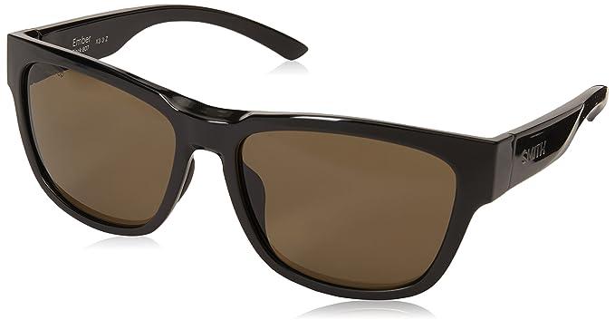 345b7574ffa3f Amazon.com  Smith Ember Sunglasses Black with ChromaPop Polarized ...