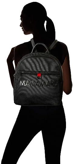 MARIA MARE Mariamare Charlot, Bolso Mochila para Mujer, (Tecnic Negro), 11 x 30 x 31 cm: Amazon.es: Zapatos y complementos