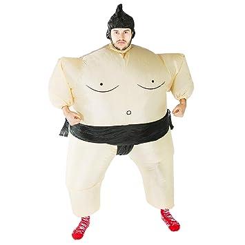 Bodysocks® Disfraz Hinchable de Luchador de Sumo Adulto