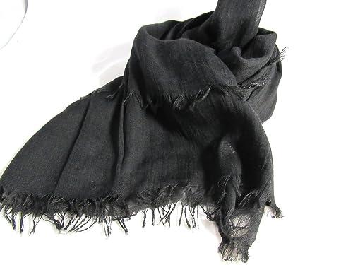 Pañuelo super suave color negro