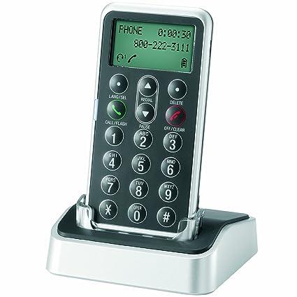 AT&T TL7601 DECT 6 0 Digital Cordless Headset Remote Dial Pad, Black
