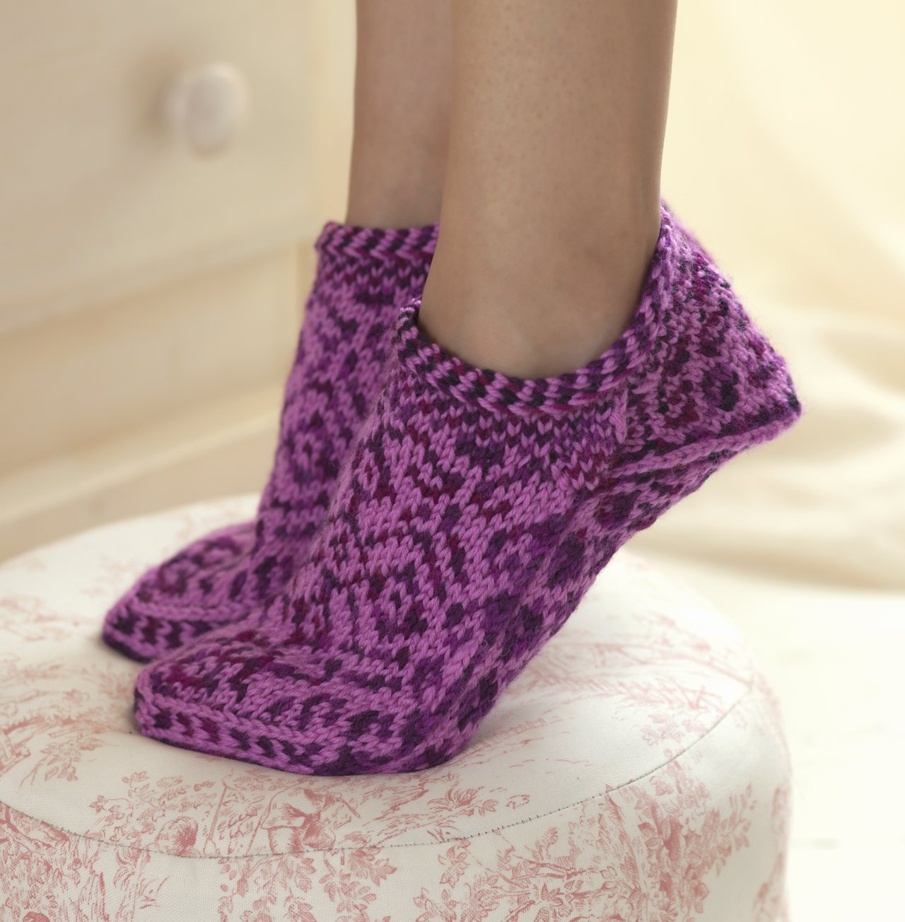 Knitted Slippers Pattern With Two Needles New Inspiration