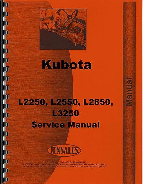 Amazon.com: Kubota L2550 Tractor Service Manual: Jardín y ...