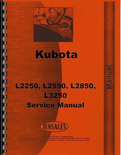 Amazon.com: Kubota L3250 Tractor Service Manual: Home ...