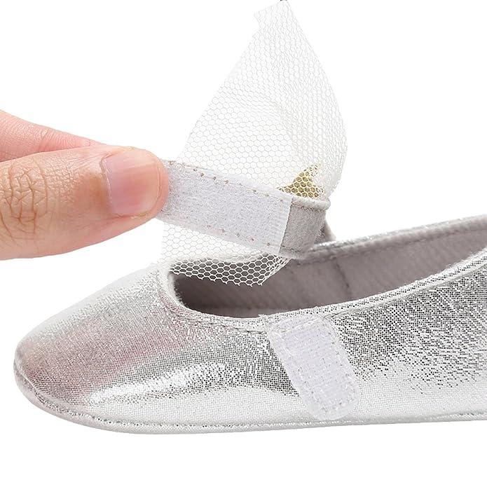 d5c729af0a8a7 La Vogue Chaussures Chaussons Souple Bébé Fille Premier Pas Similicuir   Amazon.fr  Chaussures et Sacs