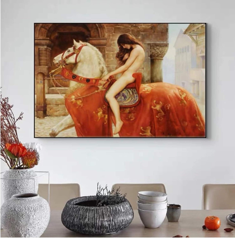 Pintura de arte de lienzo 30x50cm sin marco Pintura famosa