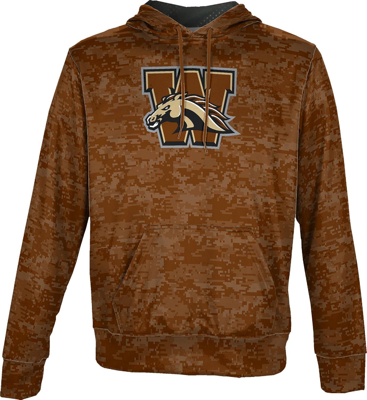 School Spirit Sweatshirt ProSphere Western Michigan University Mens Pullover Hoodie Digi Camo