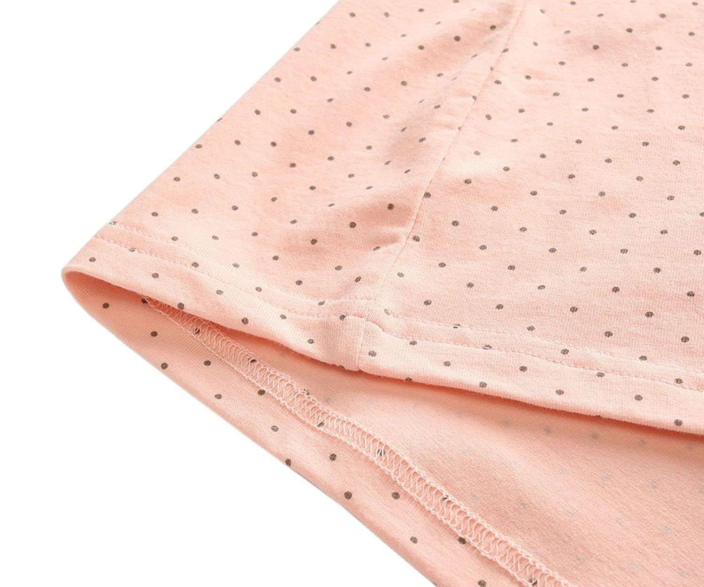 KOOYOL Womens Cute Cotton Maternity Nursing Sleep Tank Top