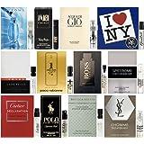 Amazon.com : 12 Men's Cologne Samples Vials & Miniature Set Tom ...