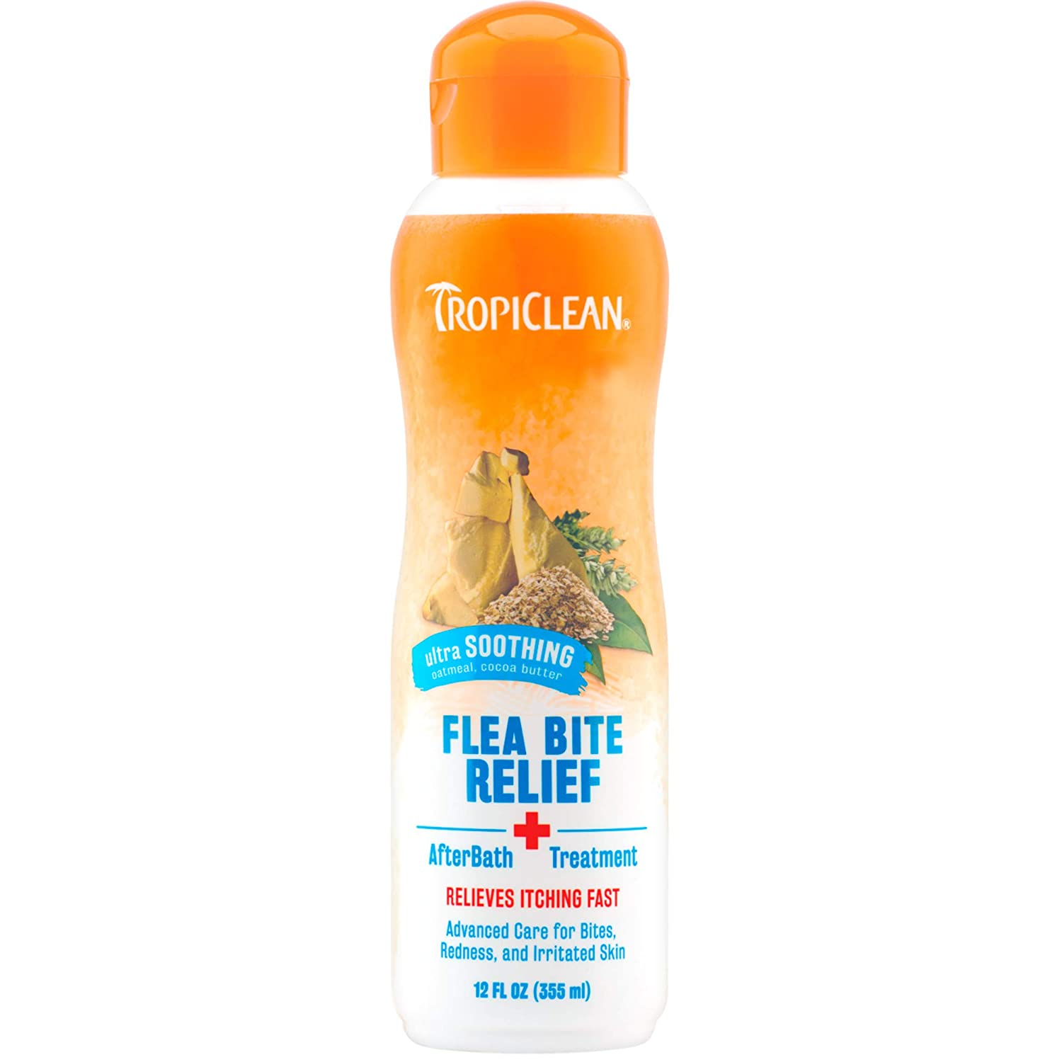 TropiClean Natural Flea and Tick Shampoo for Dogs and Puppies
