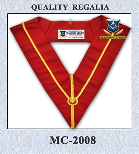 Amazon com : Masonic Royal Arch Chapter PZ Collar : Pet Supplies
