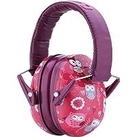 Snug Safe n Sound Kinder Gehörschutz – Verstellbarer Kopfbügel Ohrenschützer für Kinder und Erwachsene Eulen