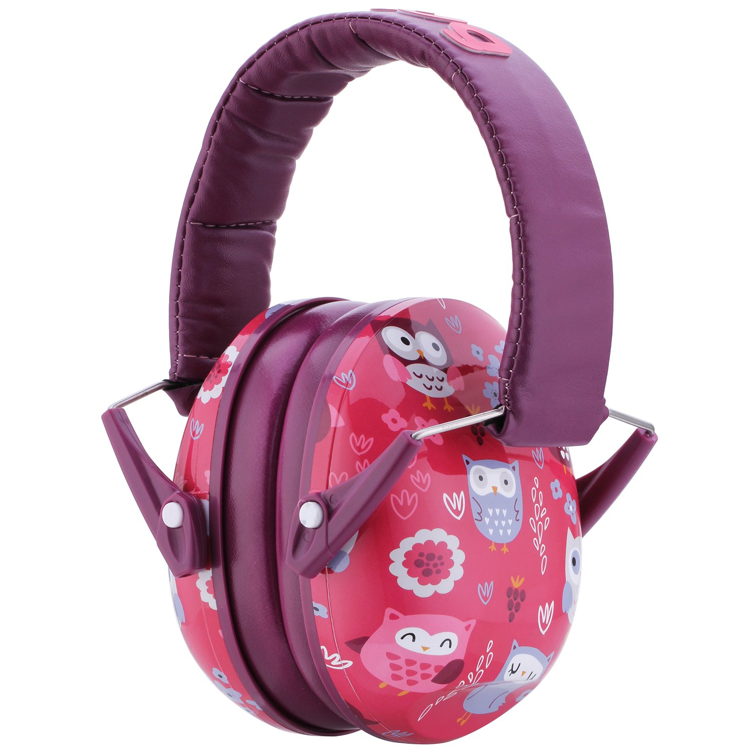 Snug Kids Earmuffs/Hearing Protectors – Adjustable Headband Ear Defenders for Children and Adults (Owls) by Snug (Image #1)