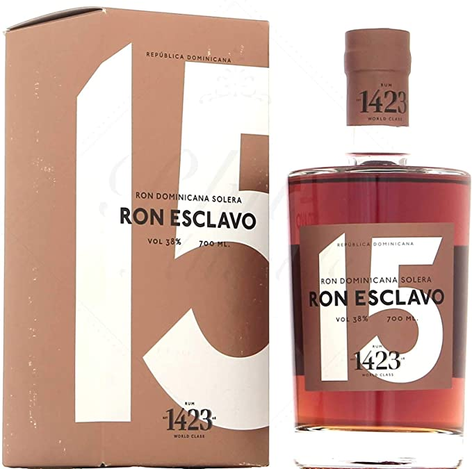Ron Esclavo 15 Years Old Solera Rum in Gift Box - 700 ml