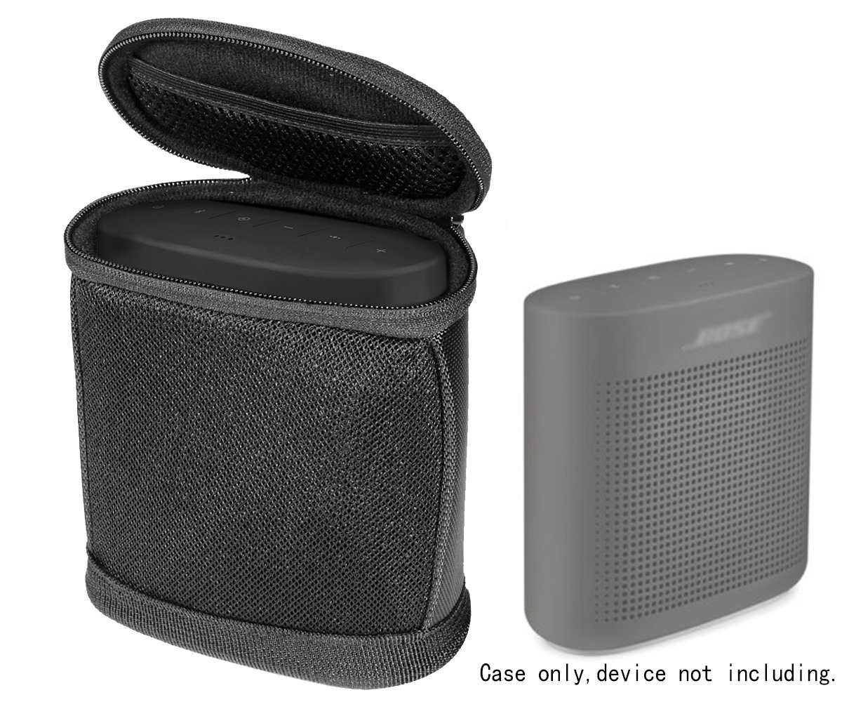 Protective Case for Bose SoundLink Color 2 and Bose SoundLink Color Bluetooth speaker, Portable Sound Through Design, Tailor made and Easy to go carabiner, Best matching in shape, light weight