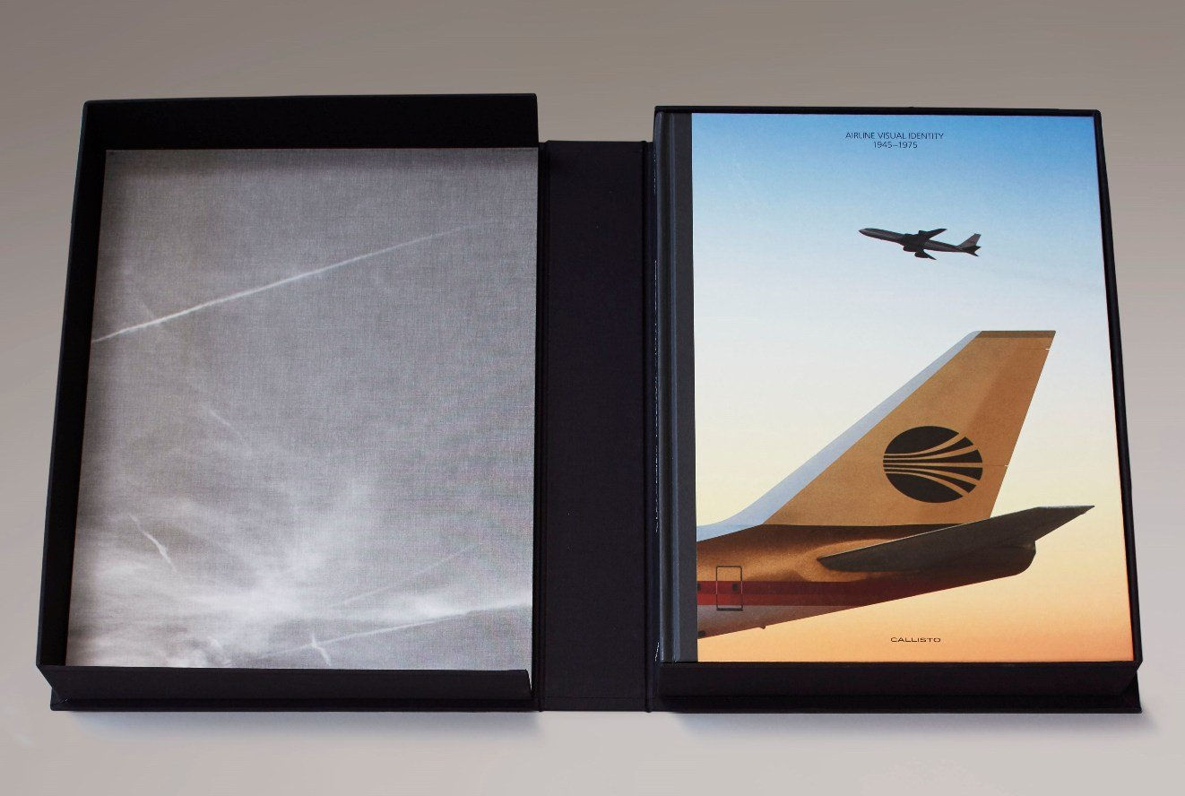 airline visual identity 1945 1975
