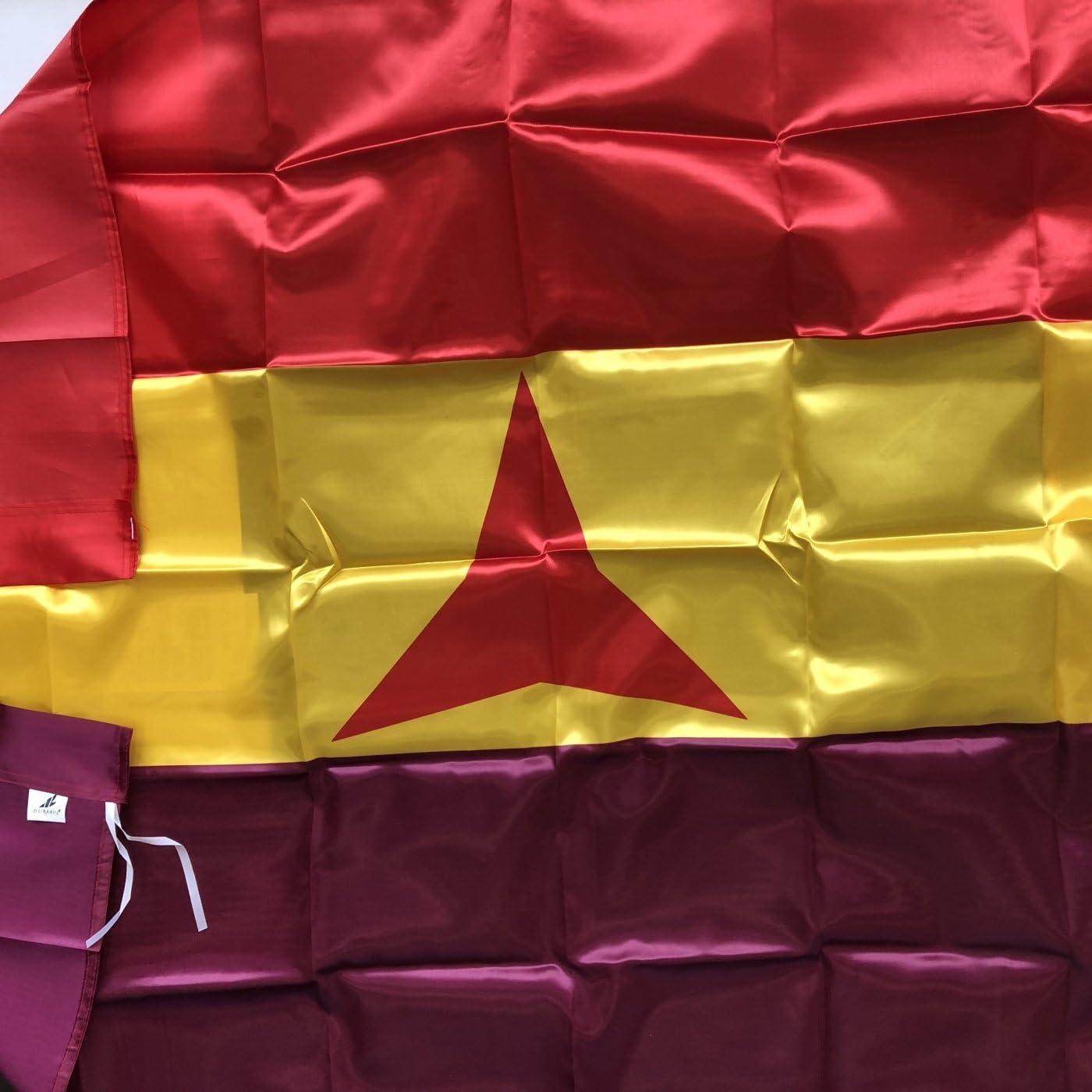 Durabol Bandera ESPAÑA Republicana Brigadas Internacionles 150x90cm: Amazon.es: Hogar