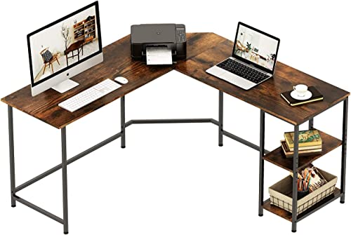 REYADE Large L-Shaped Desk
