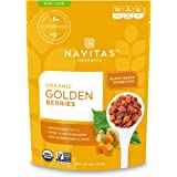 Navitas Organics Goldenberries, 8 oz. Bag, 8 Servings — Organic, Non-GMO, Sun-Dried, Sulfite-Free (Pack of 1)