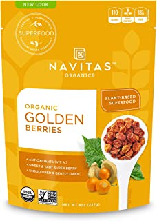 product image for Navitas Organics Goldenberries, 8 oz. Bag, 8 Servings — Organic, Non-GMO, Sun-Dried, Sulfite-Free (Pack of 1)