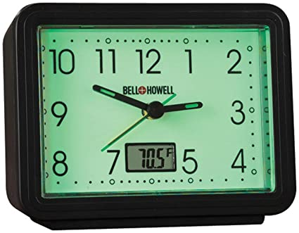 Fox Valley Traders Glow in the Dark Alarm Clock